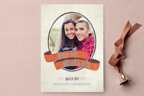 Wrapped Save The Date Cards