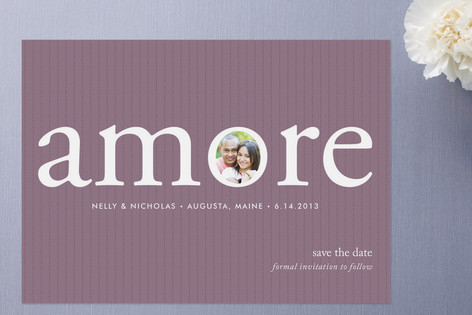Its Amore Save The Date Cards