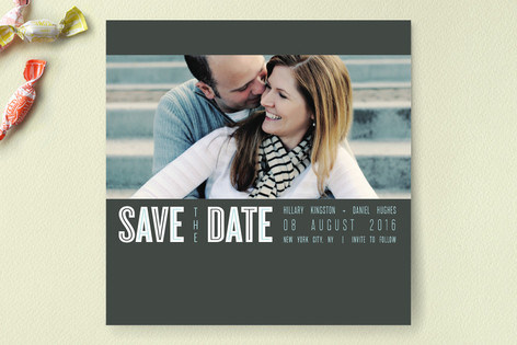Urban Save The Date Cards