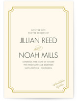 Modern Classic Save The Date Cards