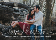 Revelry Save the Date Cards By Design Lotus