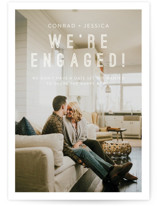 This is a white save the date by Eric Clegg called Together with standard printing on smooth signature in standard.
