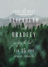 Adventure Awaits Save the Date Cards By Elly