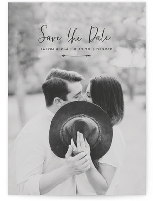 photo of Arrowed Save The Date Cards