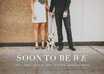 Soon to Be We Save the Date Cards By Sarah Curry
