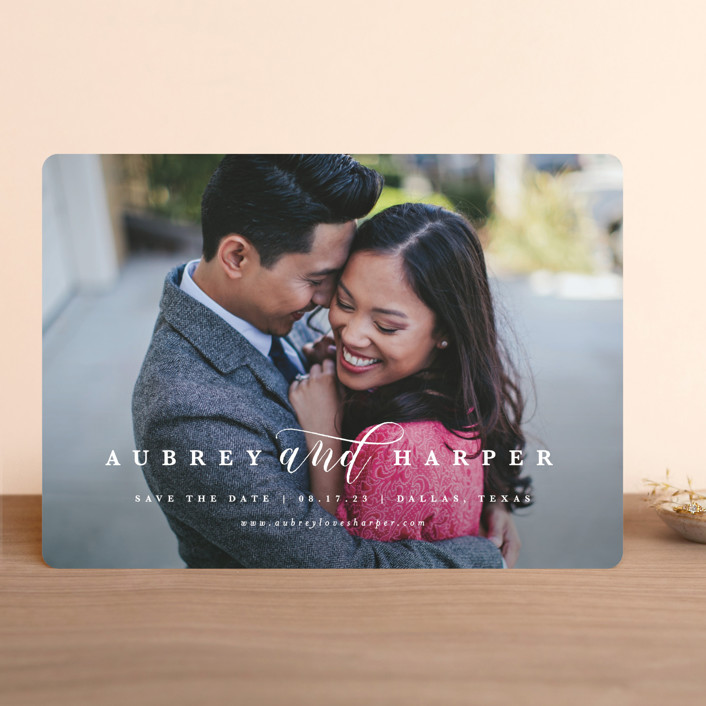 """""""United"""" - Save The Date Cards in Cloud by Lauren Chism."""