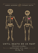 Until Death Save the Date Cards By Katie Zimpel
