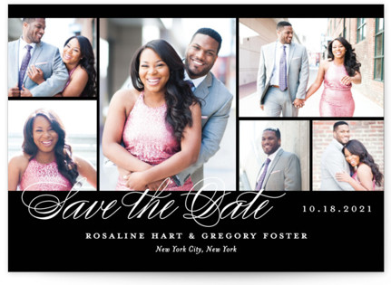 Photo Block Save the Date Cards