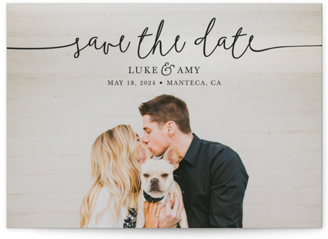 Pretty Love Save The Date Cards
