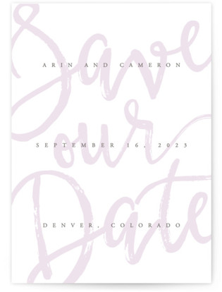 photo of Curated Save The Date Cards