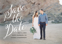 Mi Amore Save the Date Cards By Jennifer Lew