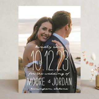Earthy Save The Date Cards