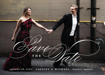 Eternity Save the Date Cards By Jessica Williams