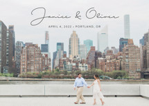Breezy Save the Date Cards By Ann Gardner