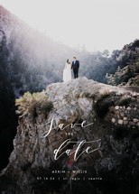 Ever After Save the Date Cards By AK Graphics