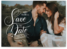 Stacked Script Save the Date
