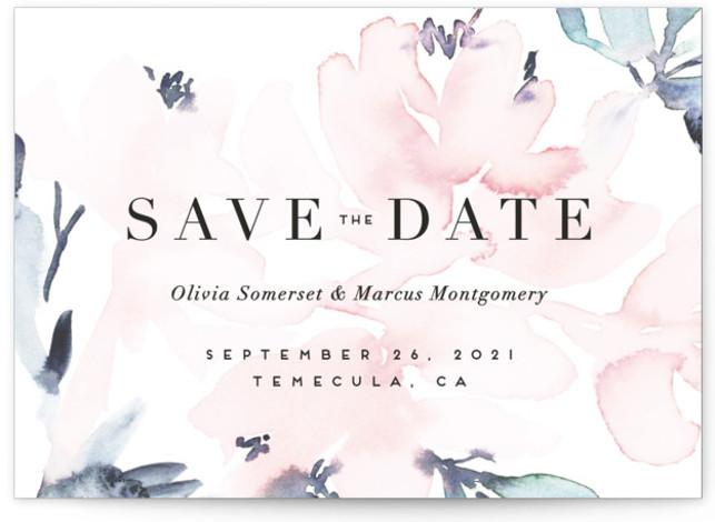 Florista Modernista Save The Date Cards