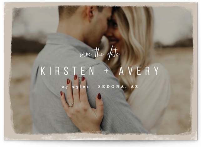 Kindred Save The Date Cards