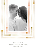 freshly framed Save the Date Cards By Baumbirdy