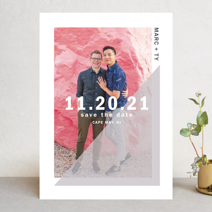 """""""uptick"""" - Save The Date Cards in Ballet by Robin Ott."""