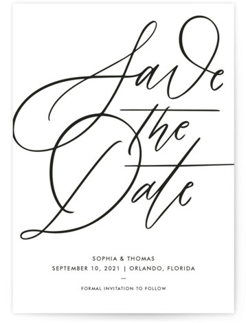 Delicate Dates Save The Date Cards