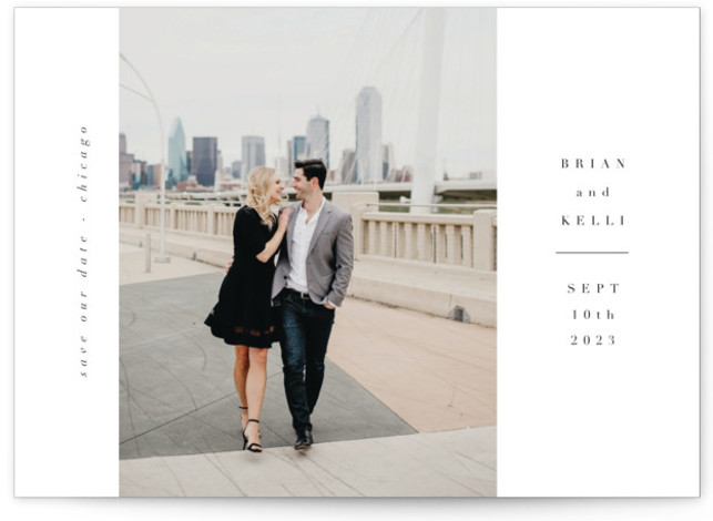 chique Save The Date Cards