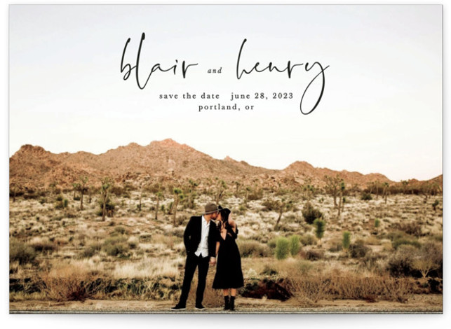 One I Love Save The Date Cards