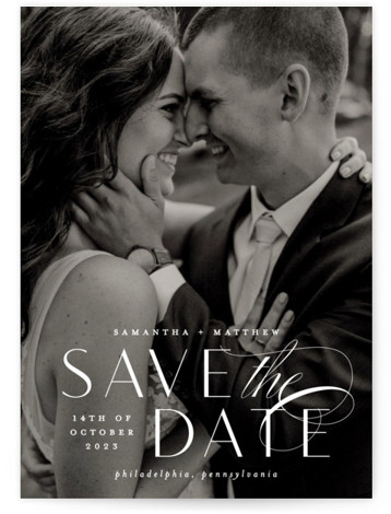 Swoop Save The Date Cards