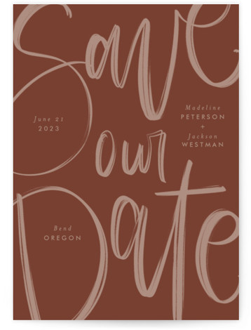Off the Page Save the Date Cards
