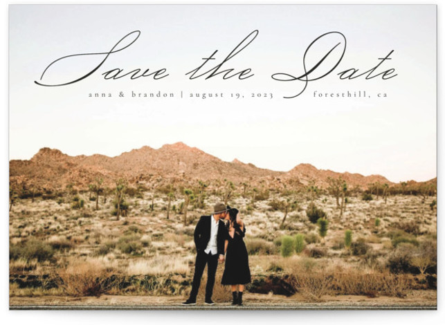 Heavenly Save the Date Cards