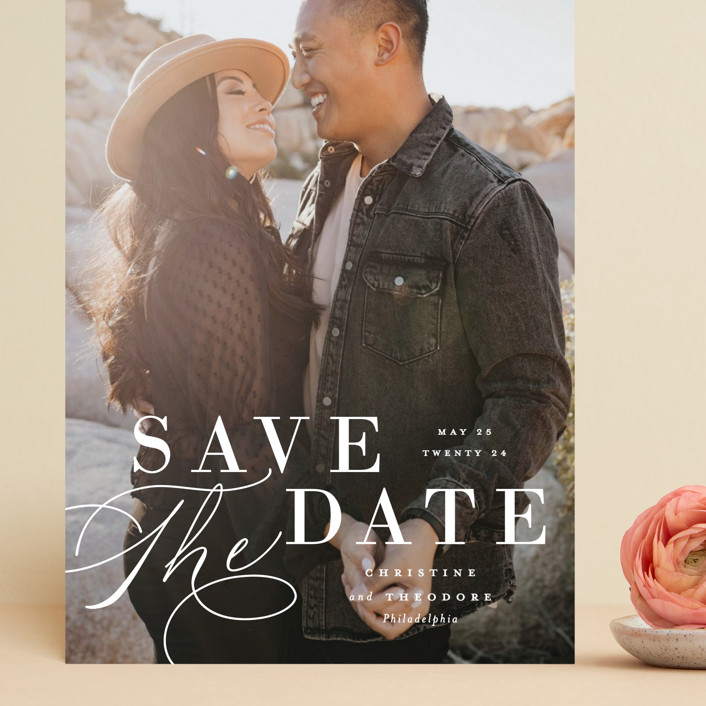 Composition Save The Date Cards