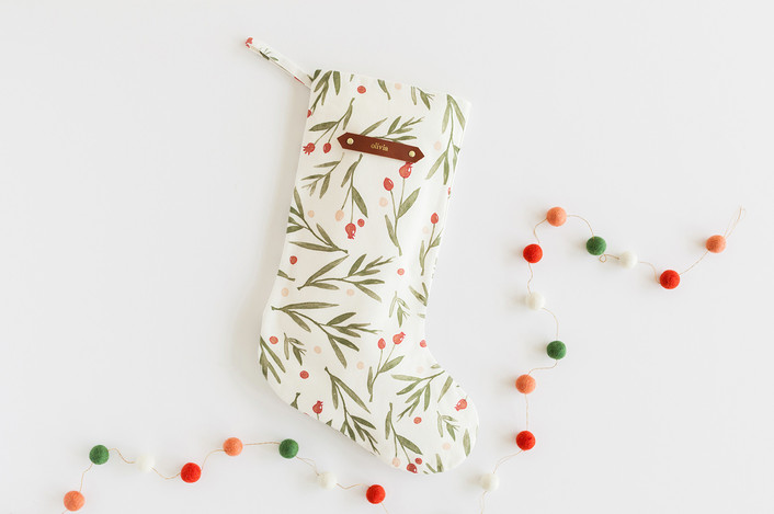 .Winter Harvest Personalizable Stocking