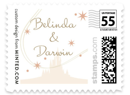 Enchanted Stars Wedding Stamps