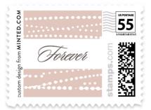 Romantic Ripples Wedding Stamps