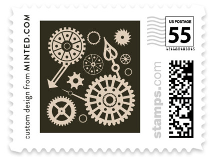Steampunk Wedding Stamps