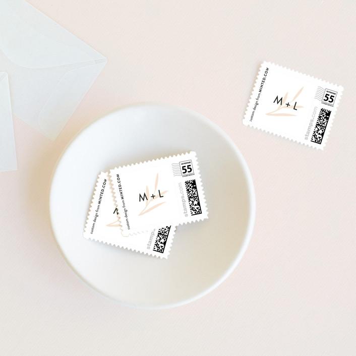 """""""Poem"""" - Wedding Stamps in Onyx by Kann Orasie."""