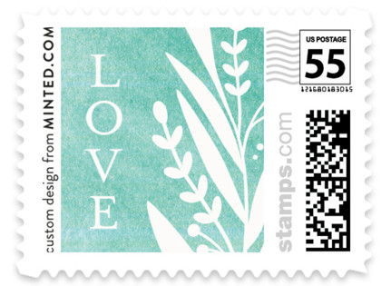 Breezy Branches Wedding Stamps