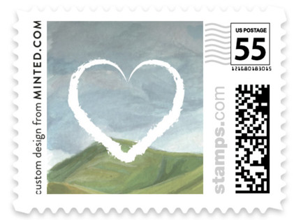 Rolling Hills Wedding Stamps