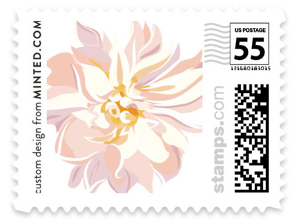 Spring Blooms Wedding Stamps