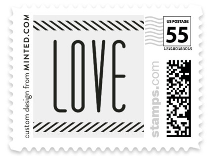 Twine Wedding Stamps