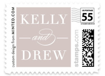Simply Stated Wedding Stamps