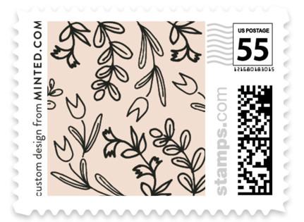 Wedding Bouquet Wedding Stamps