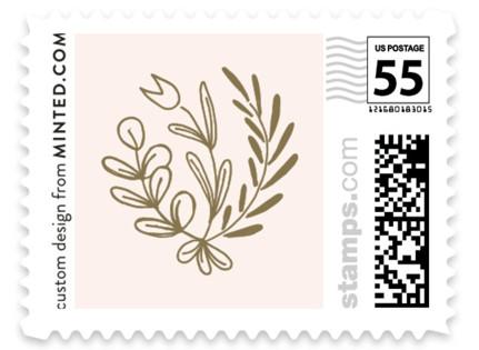 Wedding Vines Wedding Stamps