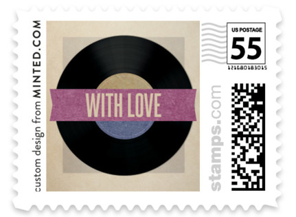 Wedding Vinyl Wedding Stamps