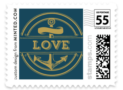 Anchored Wedding Stamps