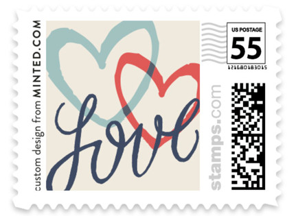 Celebration of Love Wedding Stamps