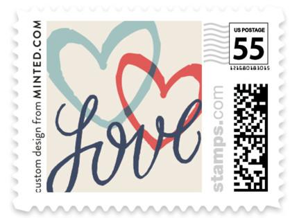 Celebration of Love Wedding Stamps