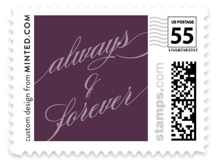 Framed Wedding Stamps