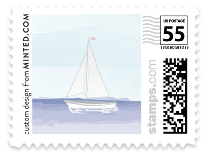 Set Sail Wedding Stamps