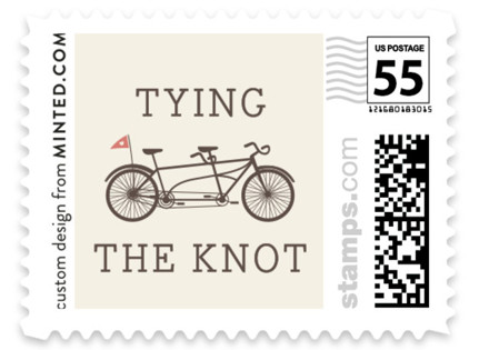 Tandem Wedding Stamps